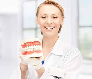full or partial Dentures for smile restoration
