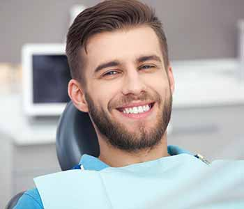 Dental implants involve replacement of the tooth roots.